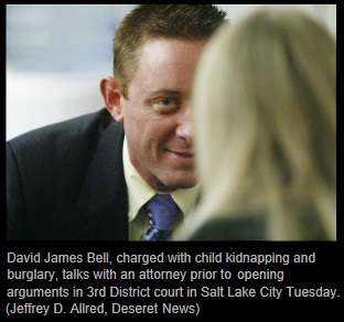 David Bell with attorney Susanne Gustin